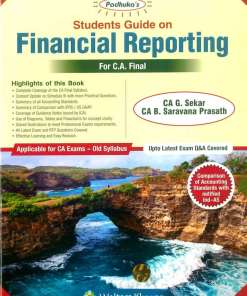 CA Final Financial Reporting Book by G Sekar for May 2019 (old syllabus)