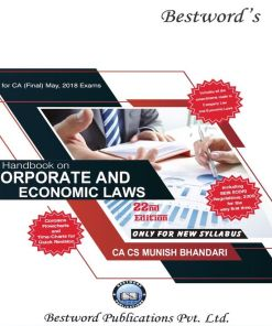 CA Final Law Handbook by Munish Bhandari May 2018 (New Syllabus)