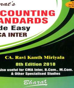 CA IPCC Accounting Book by CA Ravi Kant Miriyala for May 2018 Exam