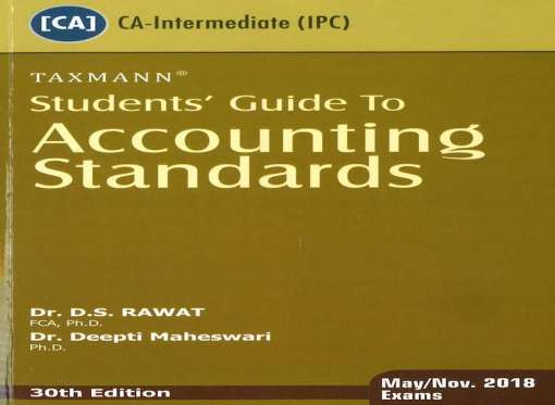 CA IPCC Accounting Standard Book by D S Rawat for May, Nov 2018 (Old Syllabus)