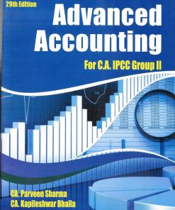 CA IPCC Advanced Accounting Book by Parveen Sharma (Old Syllabus) Nov 2018