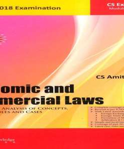 CS Executive Economic and Commercial Law Book by Amit Vohra For June 2018 Exam