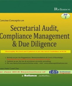 CS Professional Secretarial Audit Book by S.k Aggarwal Abha Aggarwal for June 2018 Exam