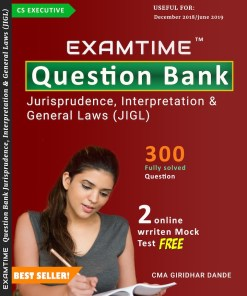 Cs Executive Examtime Question Bank JIGL By Giridhar Dande Dec 2018