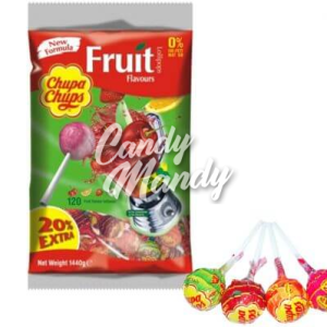 Chupa Fruit Lollys