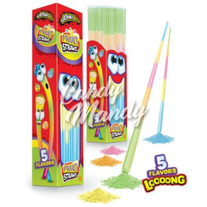 Johny Bee Fruit Straws 12 gr. / 49 cm.