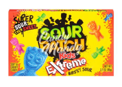 Sour Patch Extreme Box 99 gr.