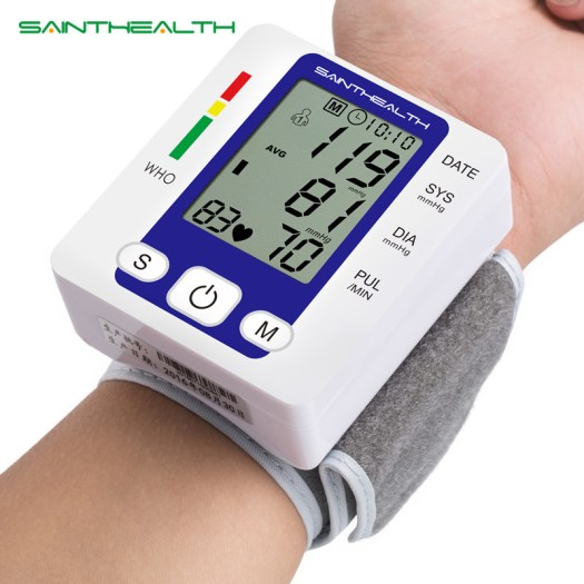 Electric Wrist Blood Pressure Monitor