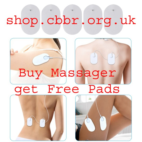 Snap Tens Electrode Pads Conductive Gel Pad Body Acupuncture Therapy Massager Therapeutic Pulse Stimulator Electro Pad
