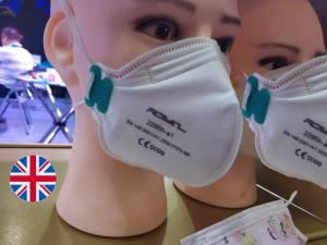 Royal FFP3 Respirator Mask Unvalved DuckBill FFP3 NR 2295h-a1