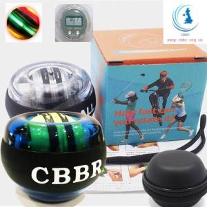 CBBR Powerball Wrist Ball Self-Starting with or without LED light & counter