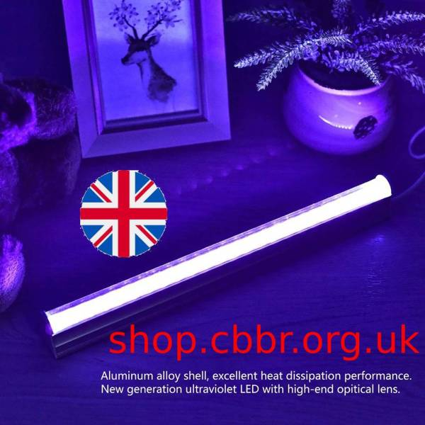 Tube UVC Germicidal Light Sterilizing Lights USB LED Blacklight Blue UV Light