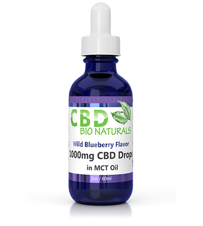 Wild Blueberry 1000mg CBD in MCT Oil