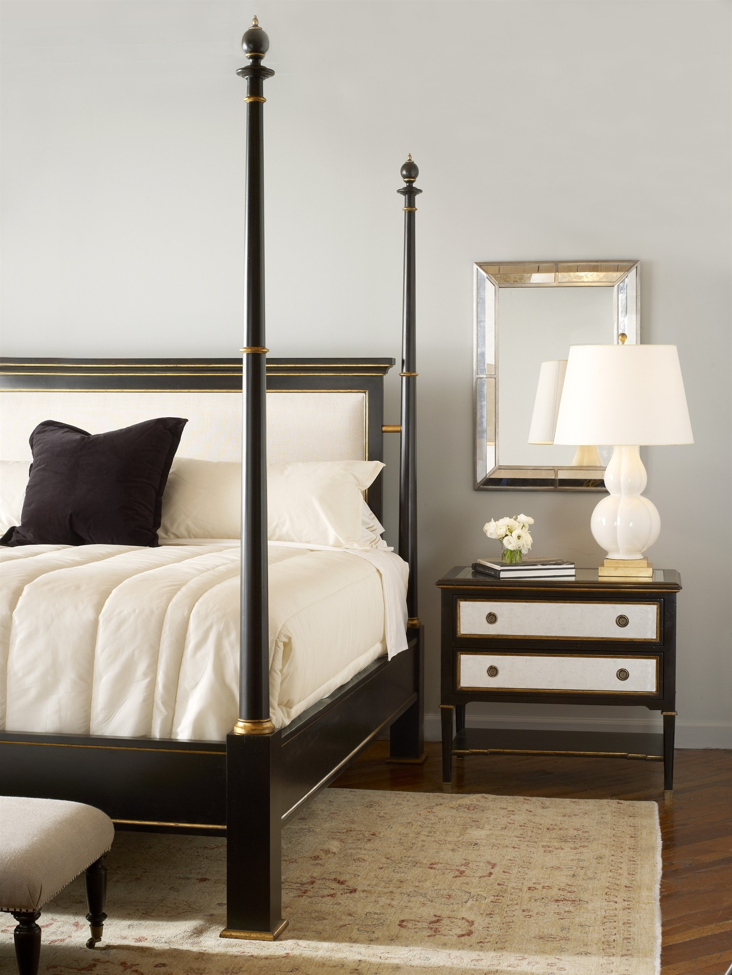 Barrington Poster Bed With Uph Headboard