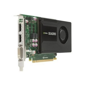 SCEHDA VIDEO PCI-E NVIDIA Quadro K2000 2GB GDDR5 128 bit
