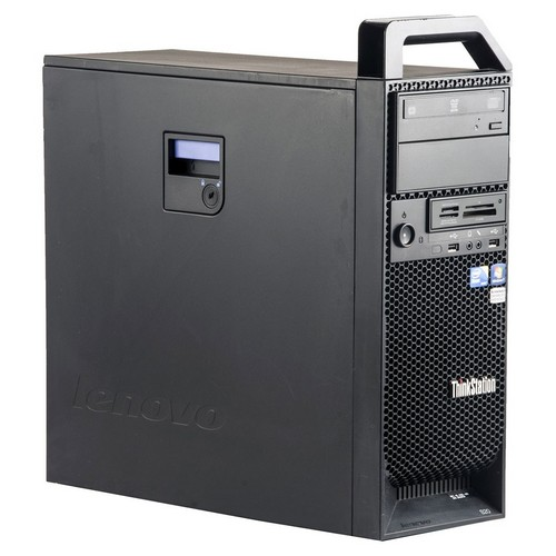 Lenovo S20 Workstation Tower Xeon W3520 8GB DDR3, HDD 500GB. W10 PRO.