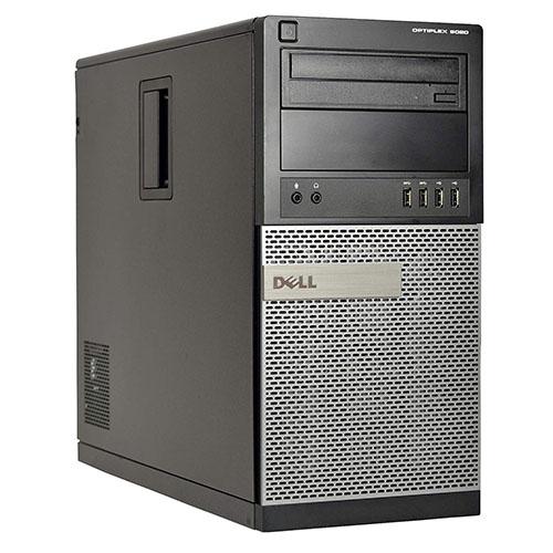 Dell 9020 Tower Intel® Core™ i5-4670T, 8GB DDR3, HDD 500GB, DVD-RW. W10 Home.