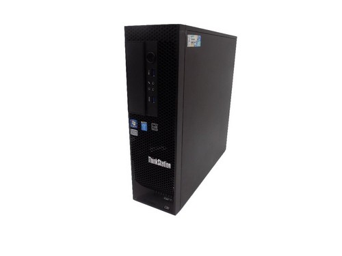 Lenovo C30 Workstation Tower 2xXeon HexaCore E5-2640 16GB DDR3 SSD 240GB. W10 Pro.