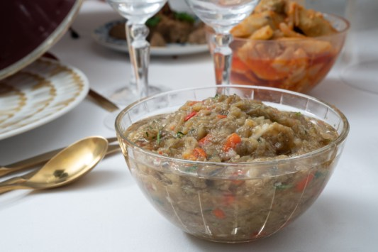Caviar d'aubergine charles traiteur