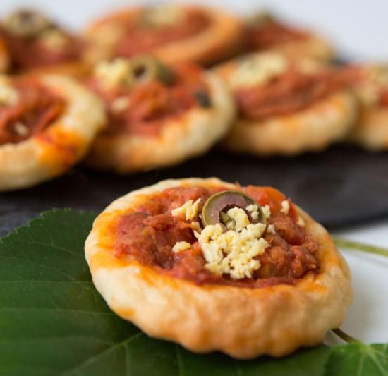 Mini pizza charles traiteur