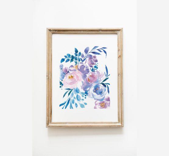 Blue-Purple-Flowers-8x10
