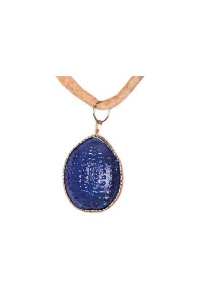 Box Glass Necklace 1