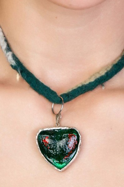 Hearth Glass Necklace 2