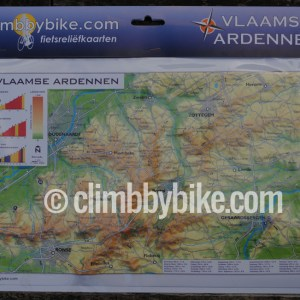 CLIMBBYBIKE_Vlaamse-Ardennen-reliëfkaart-package