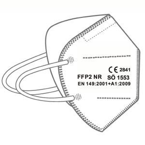 FFP2 Maske SÖ1553 – einzeln verpackt (VE 50 Stück)