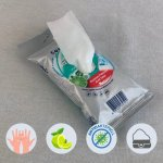 Antibakterielle Hygienetücher