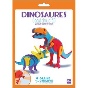 Kit créatif construction 3D dinosaures