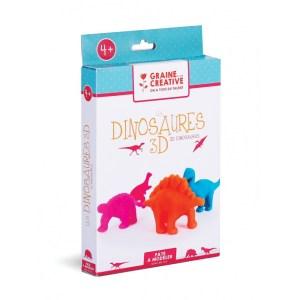 Kit Dinosaures 3D