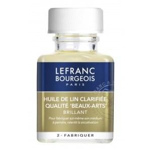 Additif Huile de lin - Lefranc Bourgeois