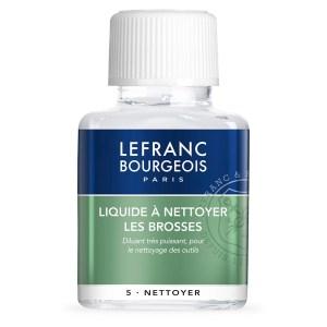 Liquide à nettoyer les brosses - Lefranc Bourgeois