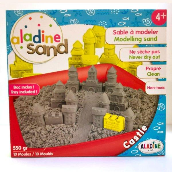 Aladine Sand - Sable à modeler Chateau