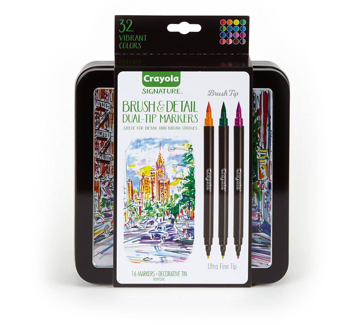 crayola art set with case