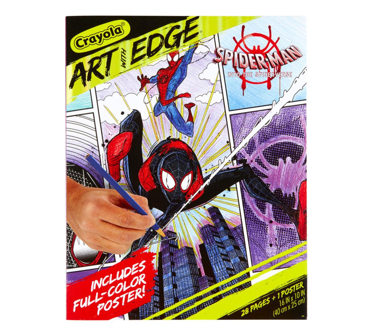 Spider Verse 28 Spiderman Coloring Pages Crayola Com Crayola