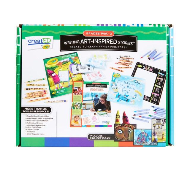 Writing Project Kit for Kids, Grades PreK, 255, 25  Crayola.com  Crayola