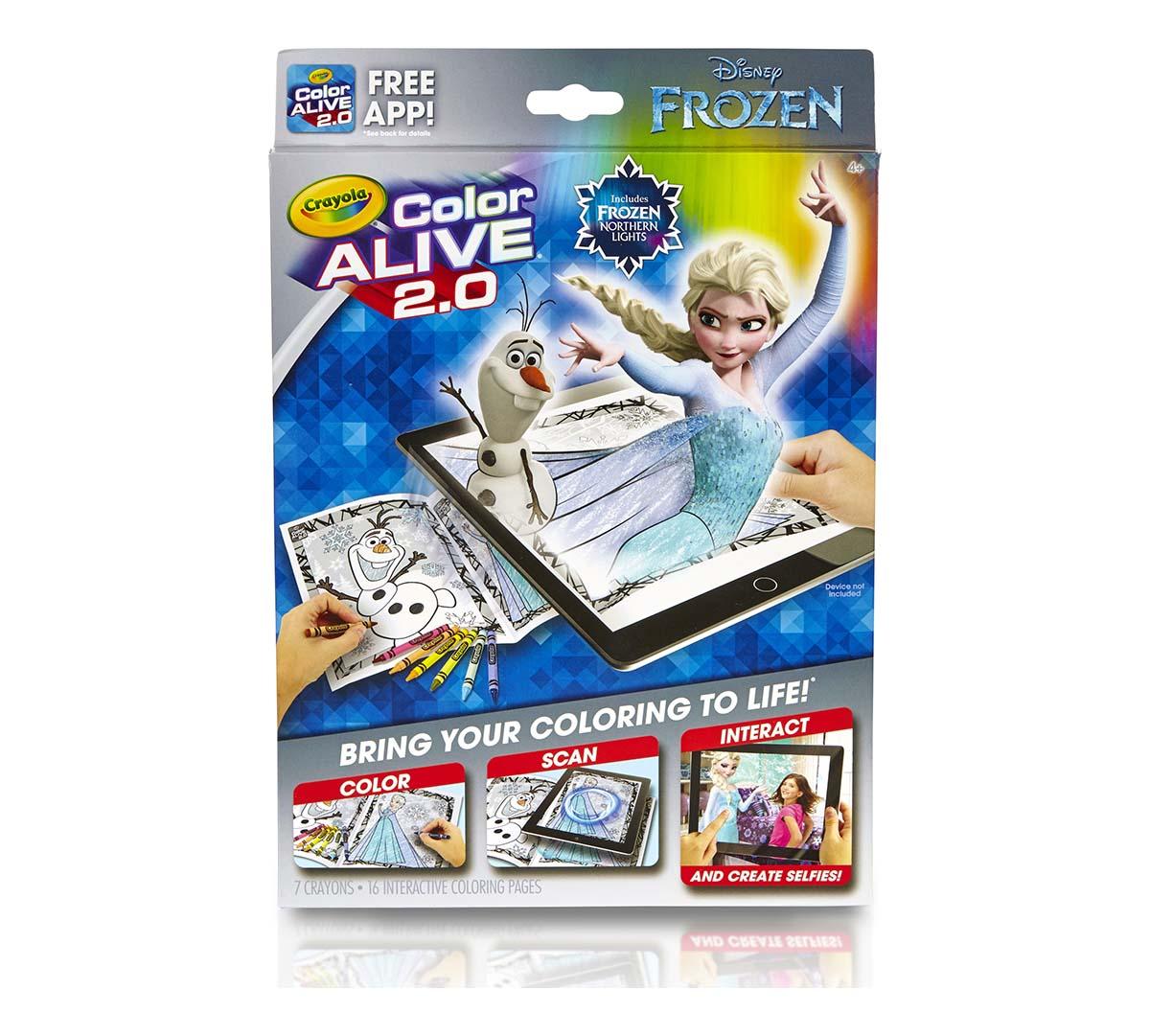 Crayola Frozen Color Alive 2 0 Interactive Coloring