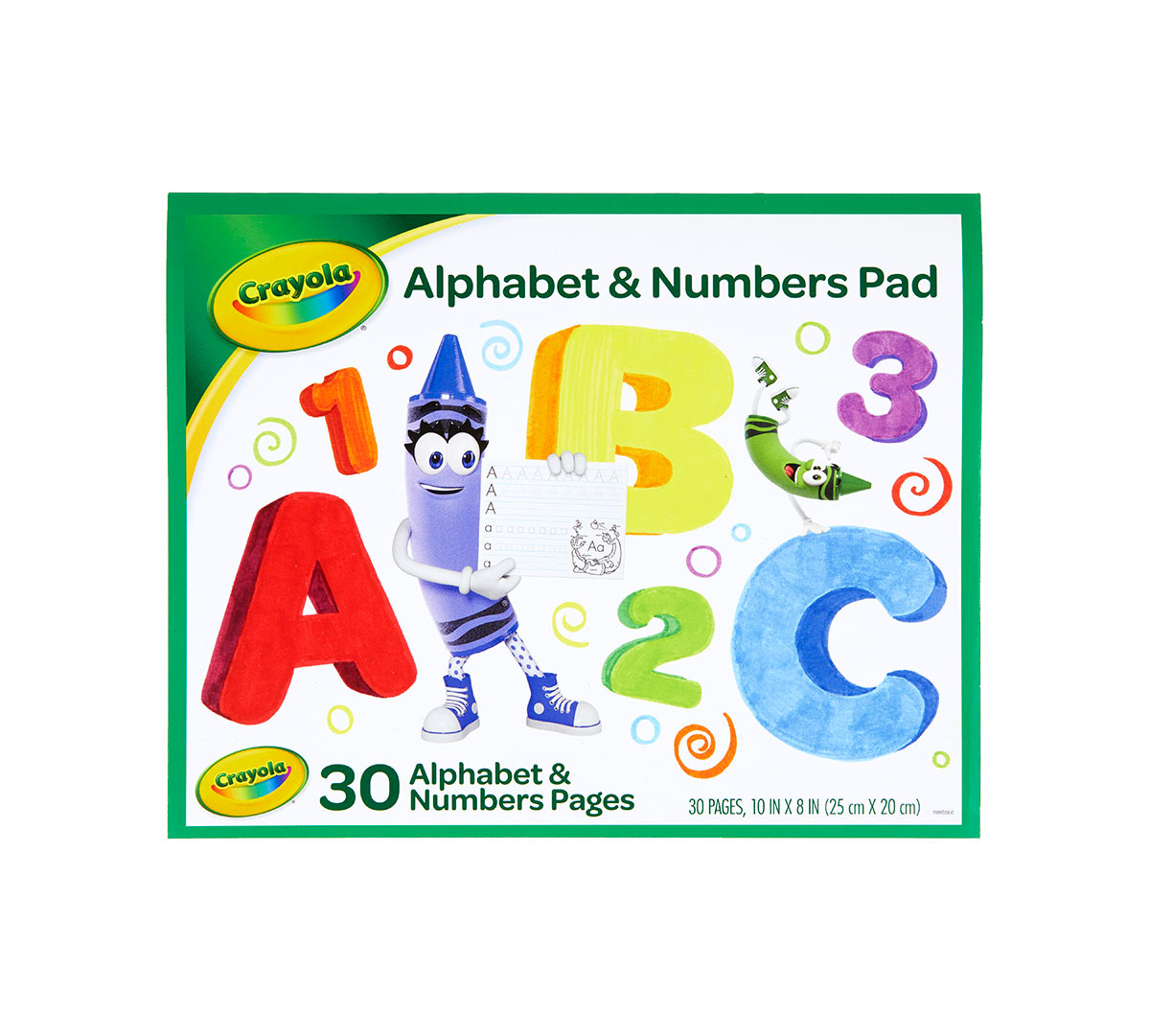 Crayola Letter And Number Tracing Worksheets 30 Pages