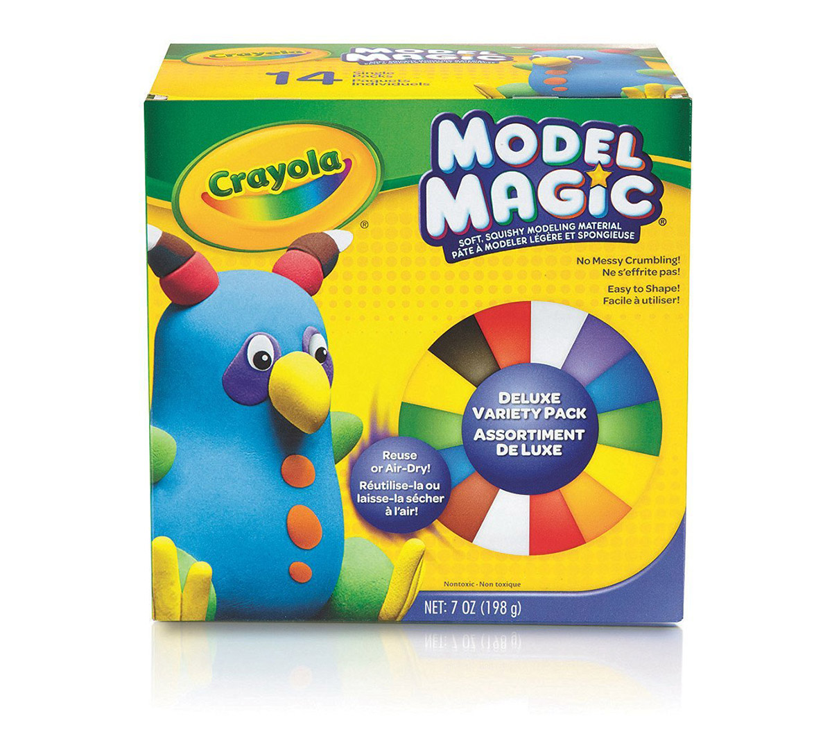Model Magic 0 5 Oz Deluxe Variety Pack 14 Count