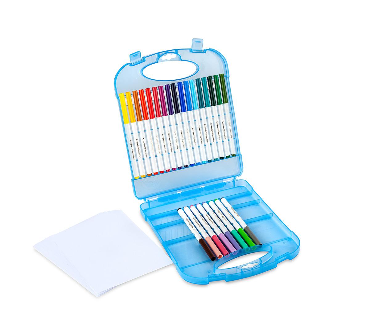 Supertips Washable Markers Amp Paper Set