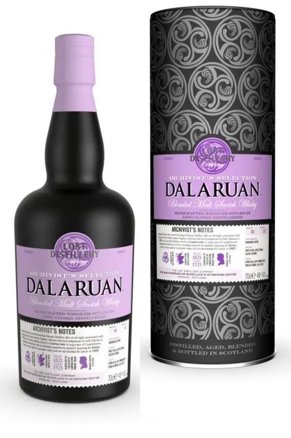 The Lost Distillery Company Dalaruan Archivist Selection Gift Tin 46% 70cl