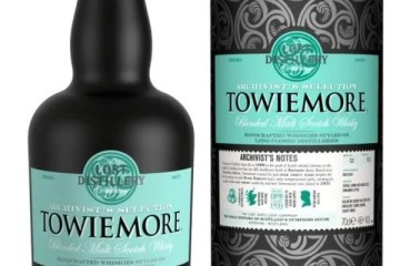 The Lost Distillery Company Towiemore Archivist Selection gift tin 46% 70cl.