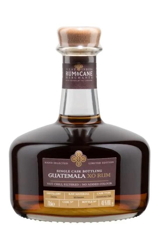 Guatemala XO Single Cask Rum, 46% 70cl gift tin