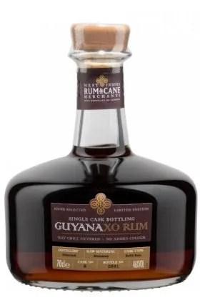 Guyana XO Single Cask Rum 46% 70cl gift tin