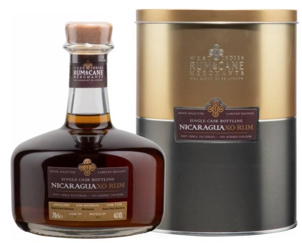nicaragua XO rum single cask rum & cane merchants