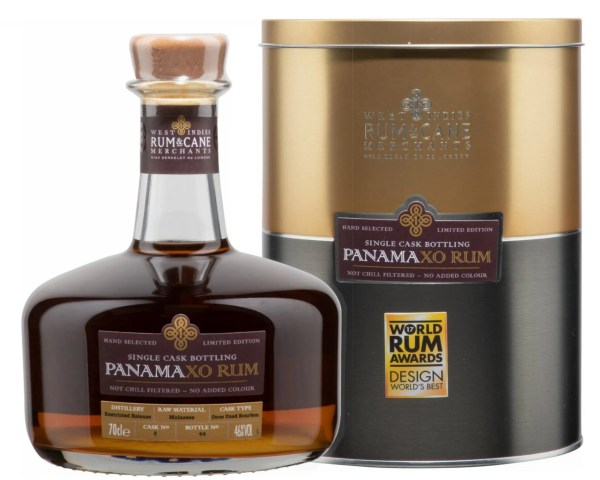 panama XO rum single cask rum & cane merchants