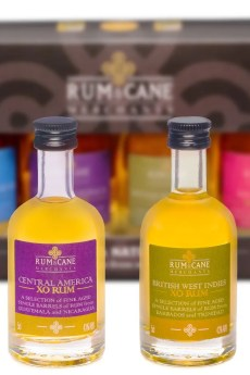Rum & Cane merchants mini pack regional rums