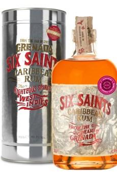 Six Saints Rum gift tin grenada caribbean pedro ximenez cask finish